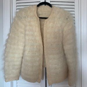 Vintage Cream Jacket -Small